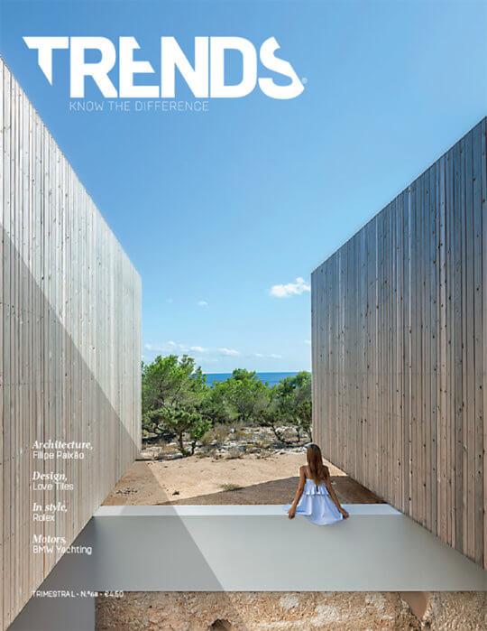 Trends Magazine #68 do atelier Ivo Tavares e fotografia arquitetura de ivo tavares studio