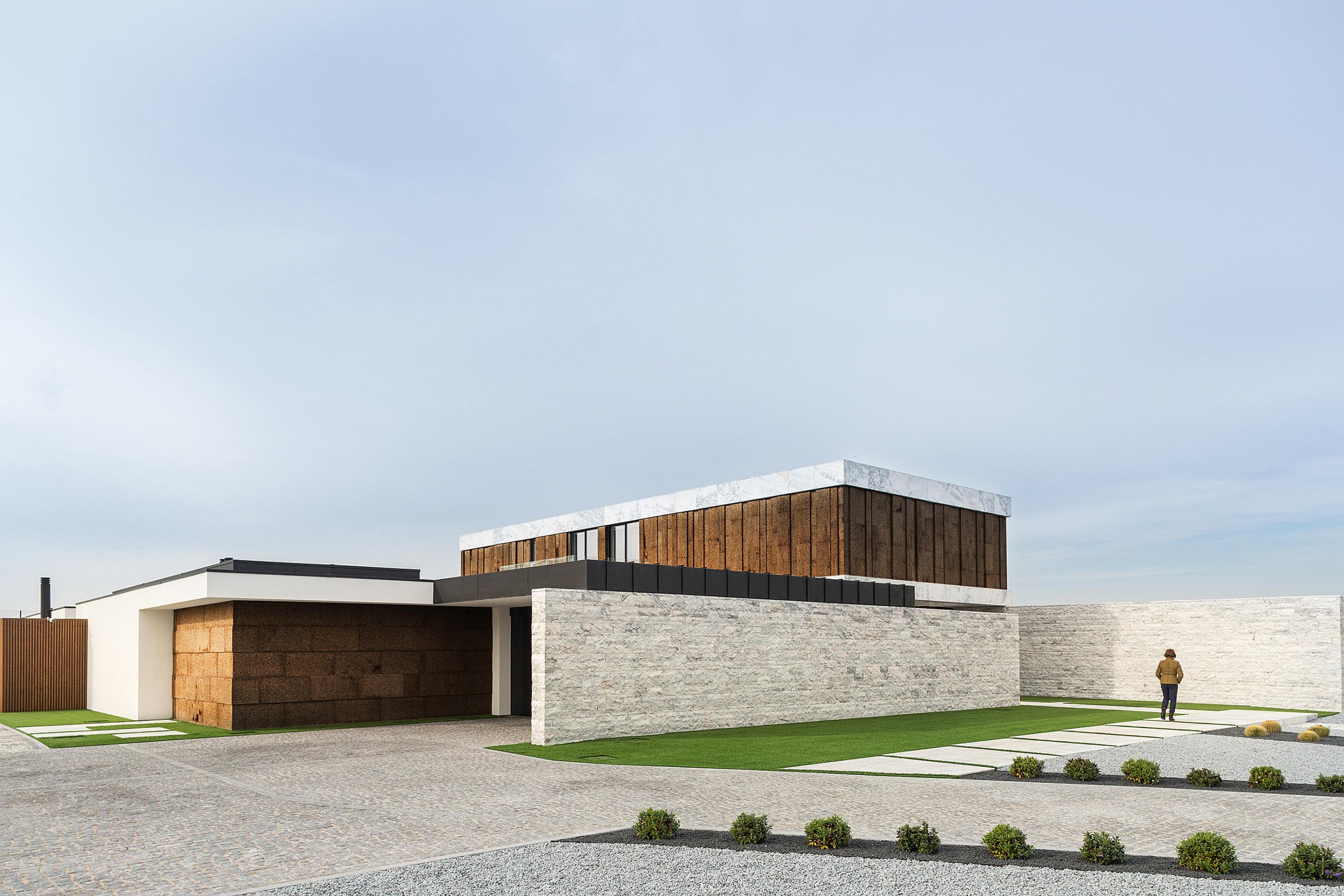 Reportagem Fotografia De Arquitectura Portuguesa Fotografo Ivo Tavares Studio Casa privada do atelier Risco Singular