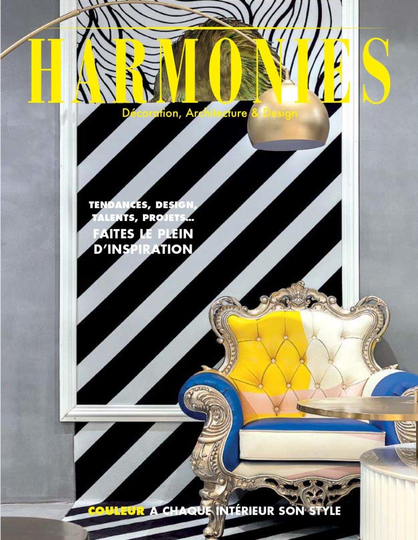 Publicação Do Projecto casa de Águeda do atelier Espaço Objecto Na Revista De Arquitetura E Interiores Harmonies