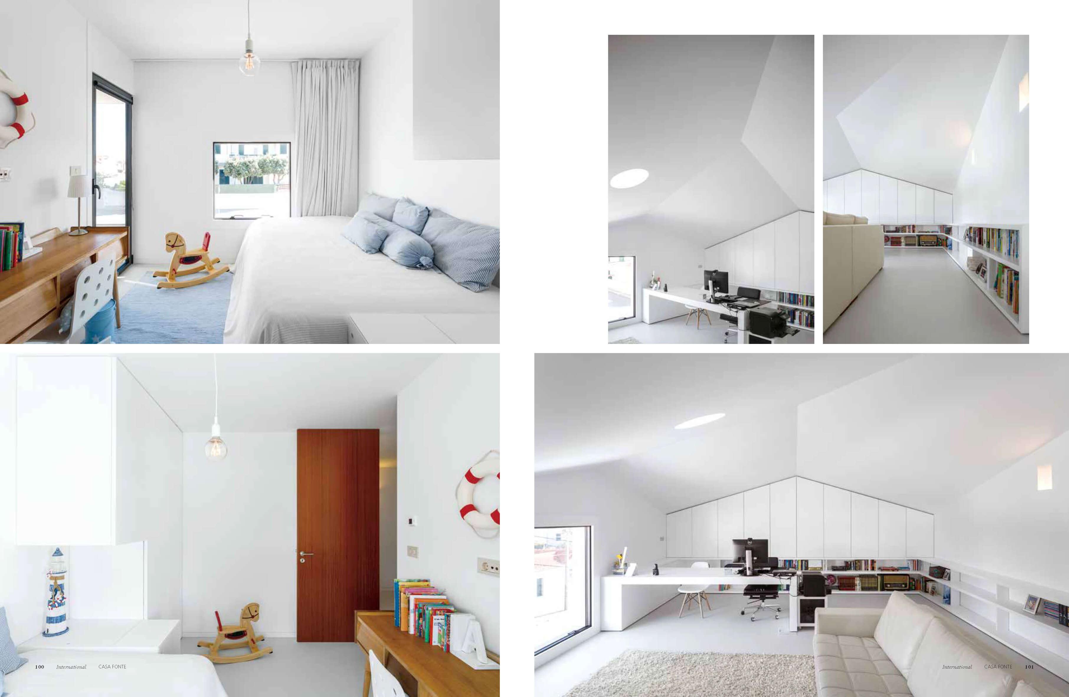 Deco Jornal Revista Arquitetura Lousinha Arquitectos Página 6 do fotografo Ivo Tavares Studio
