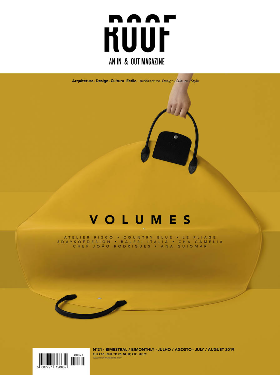Revista Portuguesa De Arquitetura E Interiores, Roof Magazine do fotografo Ivo Tavares Studio