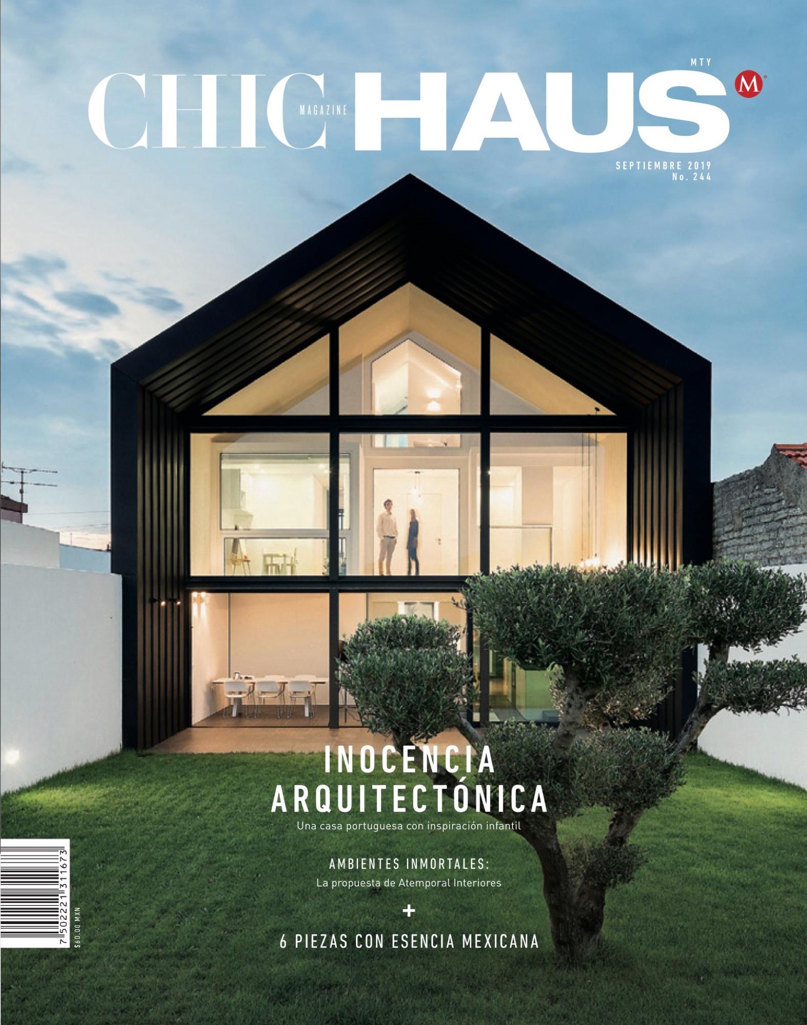 Chic Haus Magazine September Casa Arco Frari Arquitectura 157 1 do fotografo Ivo Tavares Studio