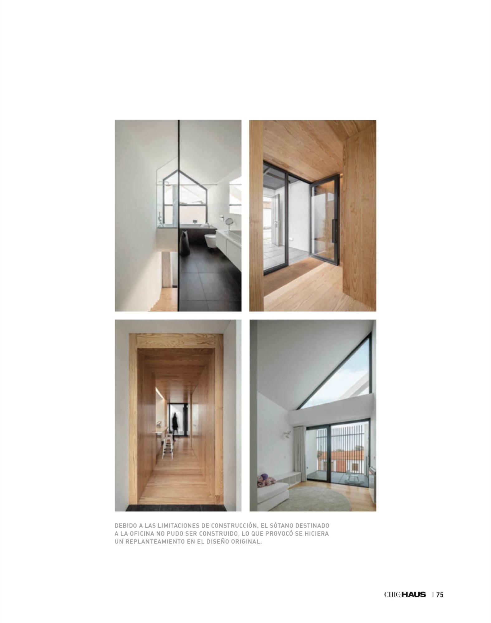 Chic Haus Magazine September Casa Arco Frari Arquitectura 231 75 do fotografo Ivo Tavares Studio