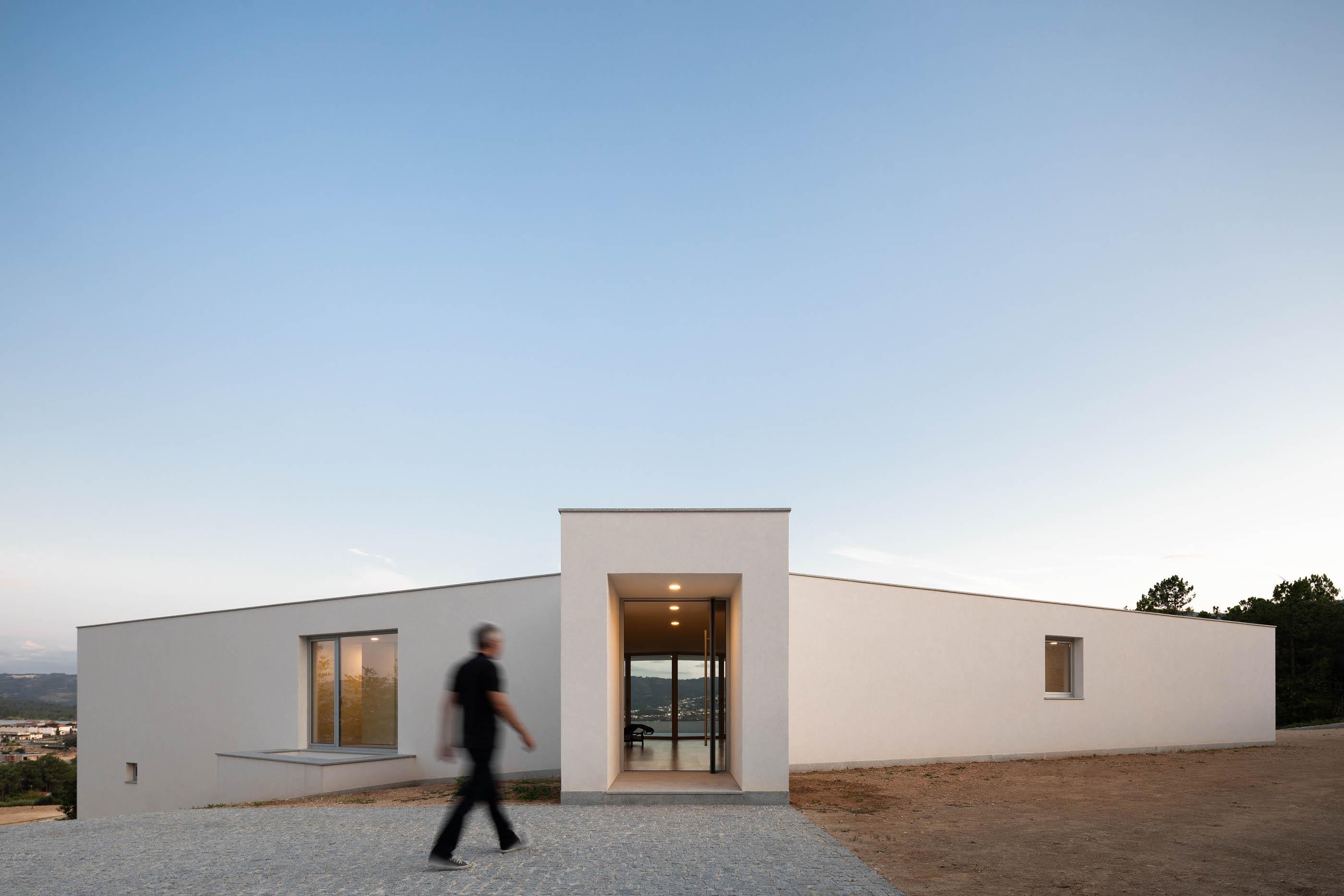 Casa Em Lamego Do Arquitecto António Ildefonso do fotografo Ivo Tavares Studio
