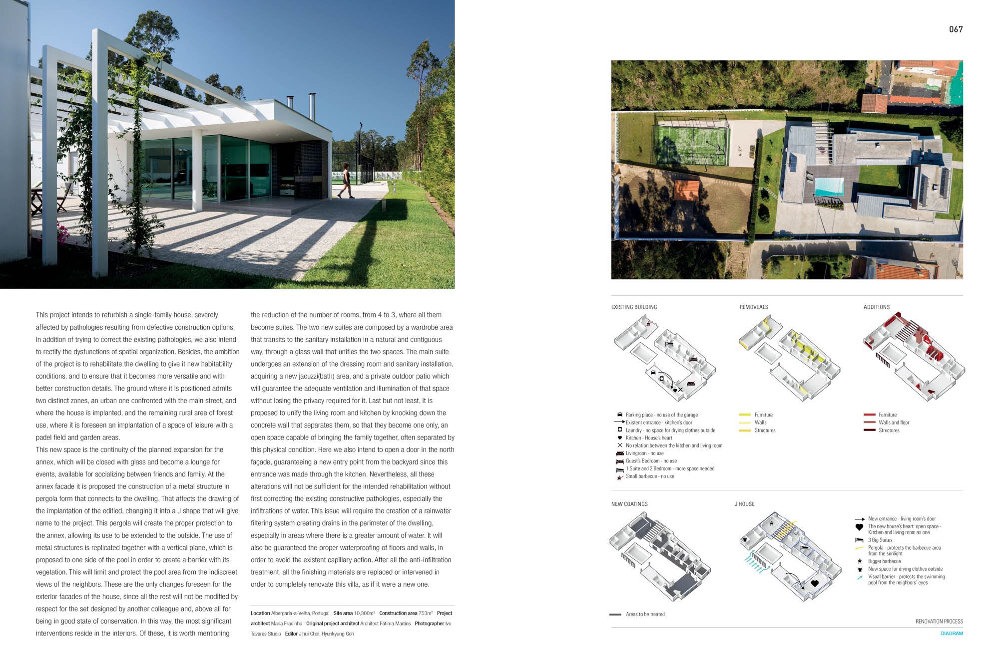 Casa J Em Albergaria Do Atelier Frari Arquitectos Publicado Na do fotografo Ivo Tavares Studio