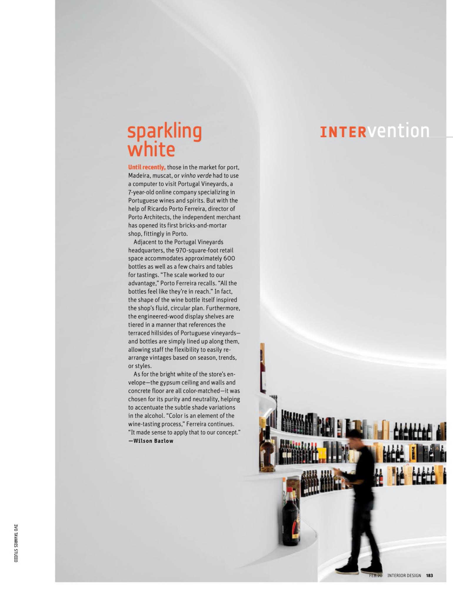 Porto Architects Publicado Na Revista Interior Design Magazine do fotografo Ivo Tavares Studio