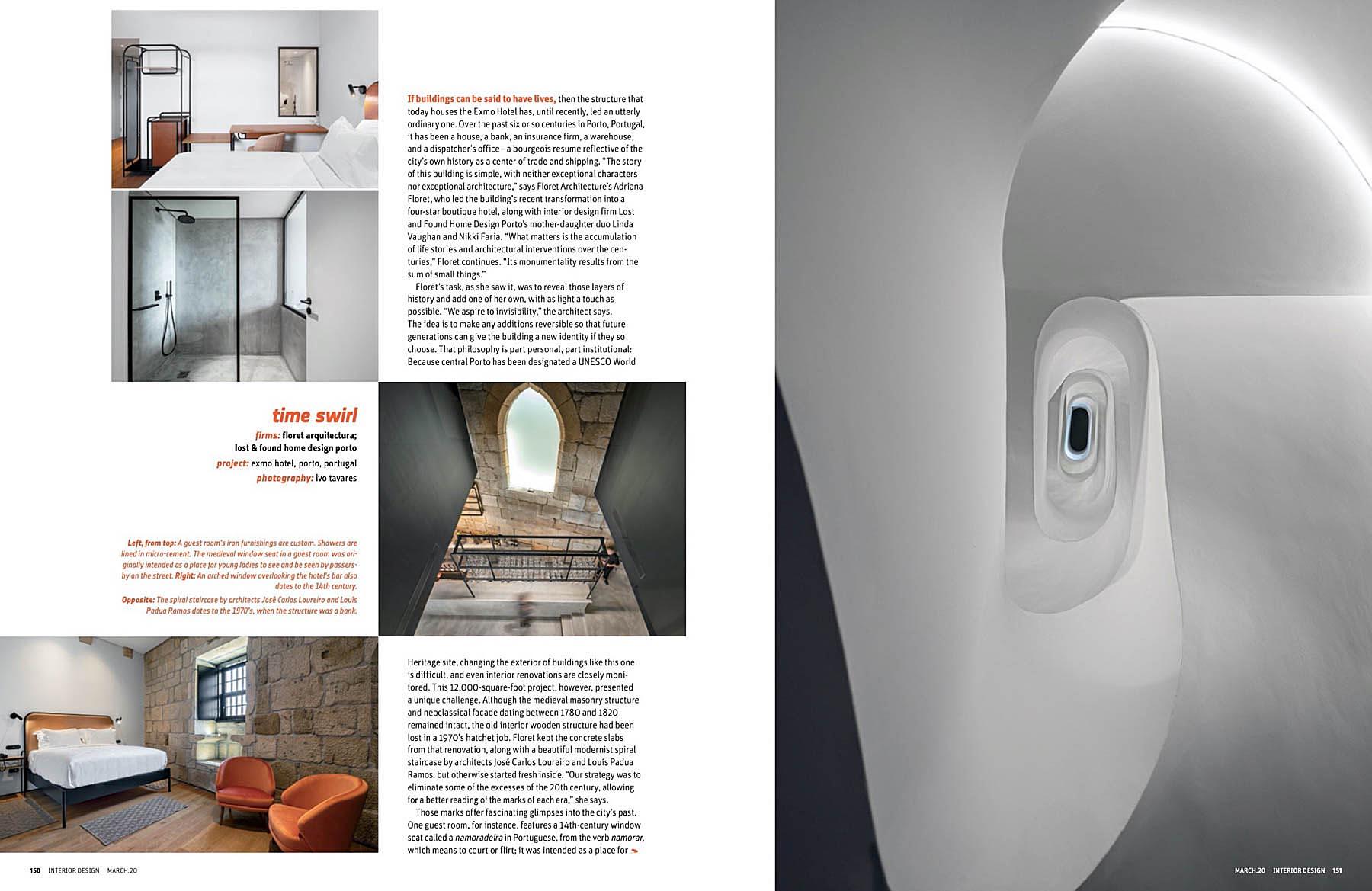 Interior Design Magazine March 2020 Com Projecto De Arquitectura
