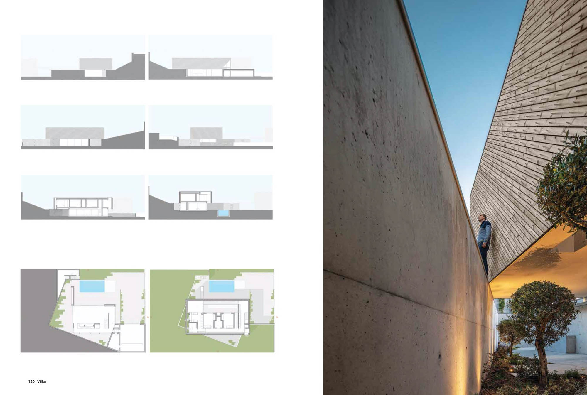 Casa A do REM'A Arquitectos na revista Villas da Ek com fotografia de arquitectura Ivo Tavares Studio