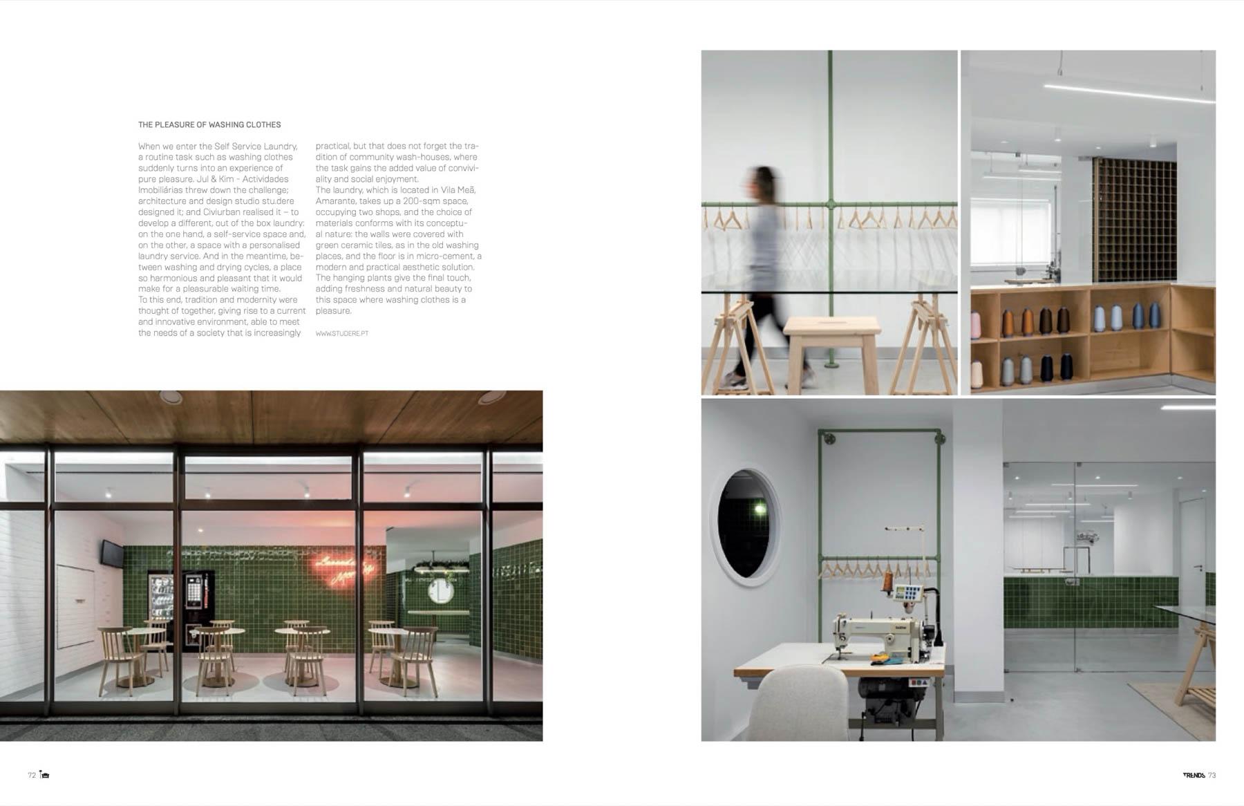 Revista Trends de arquitectura portuguesa publica projecto do at