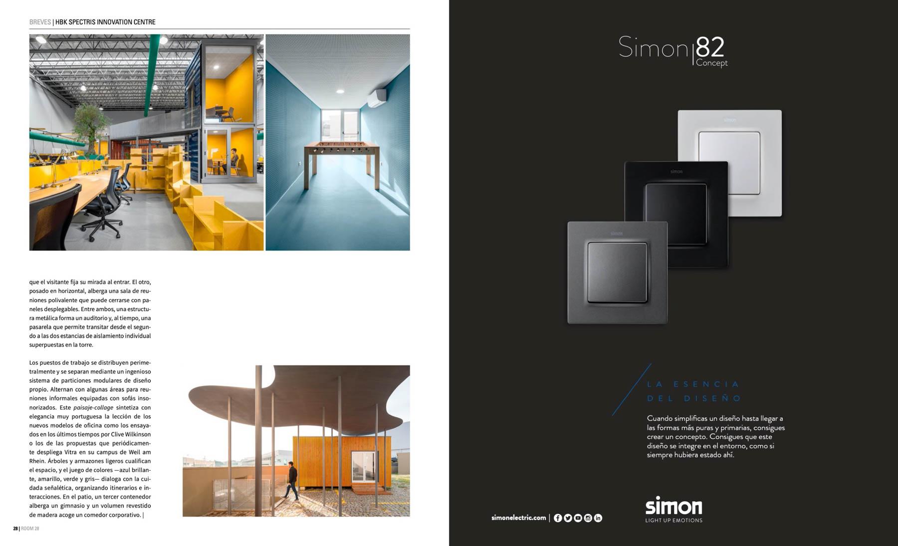 Studium arquitectura do Porto na revista Room Diseno com fotogra
