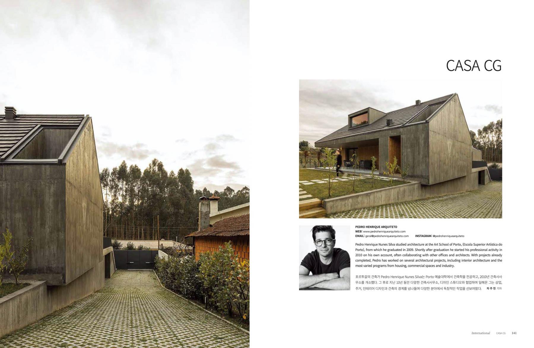 Casa CG em Santa Maria da Feira do Arquitecto Pedro Henrique pub