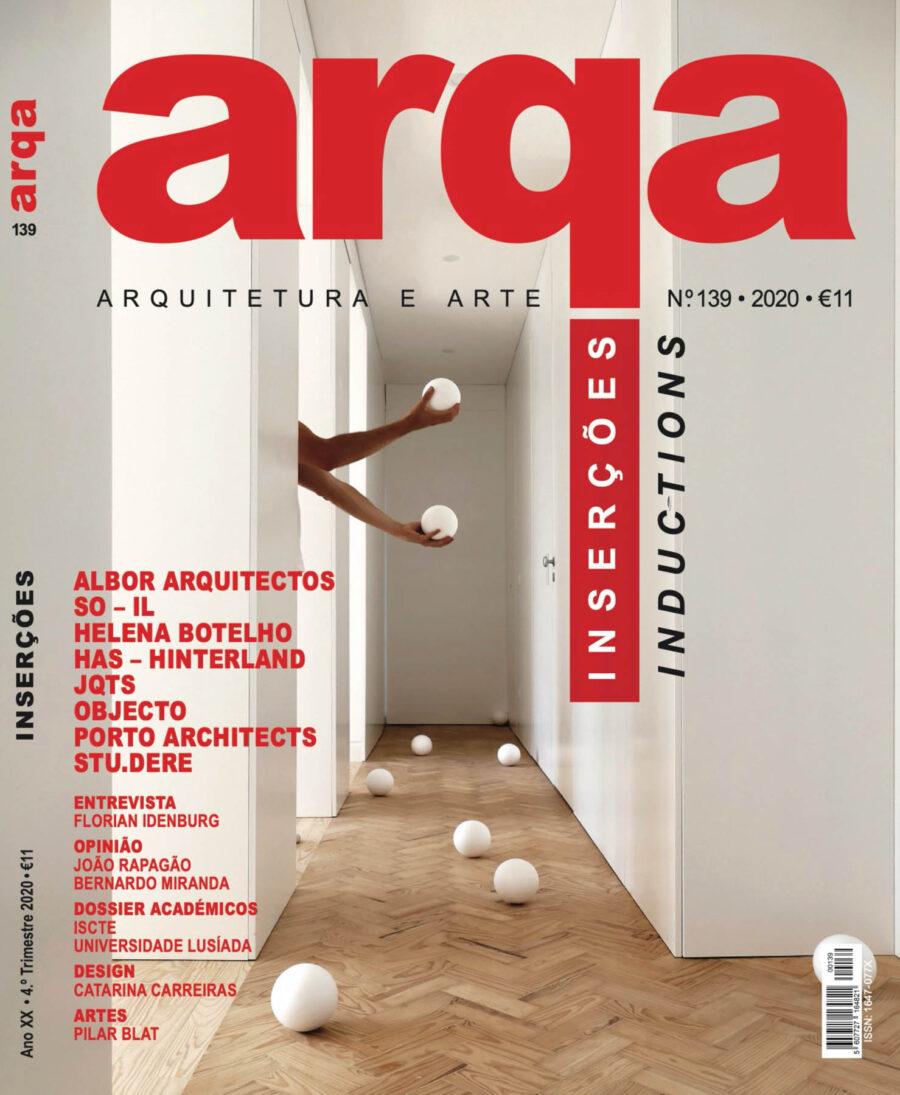publicado na revista ArqA e com fotografia de arquitectura de I
