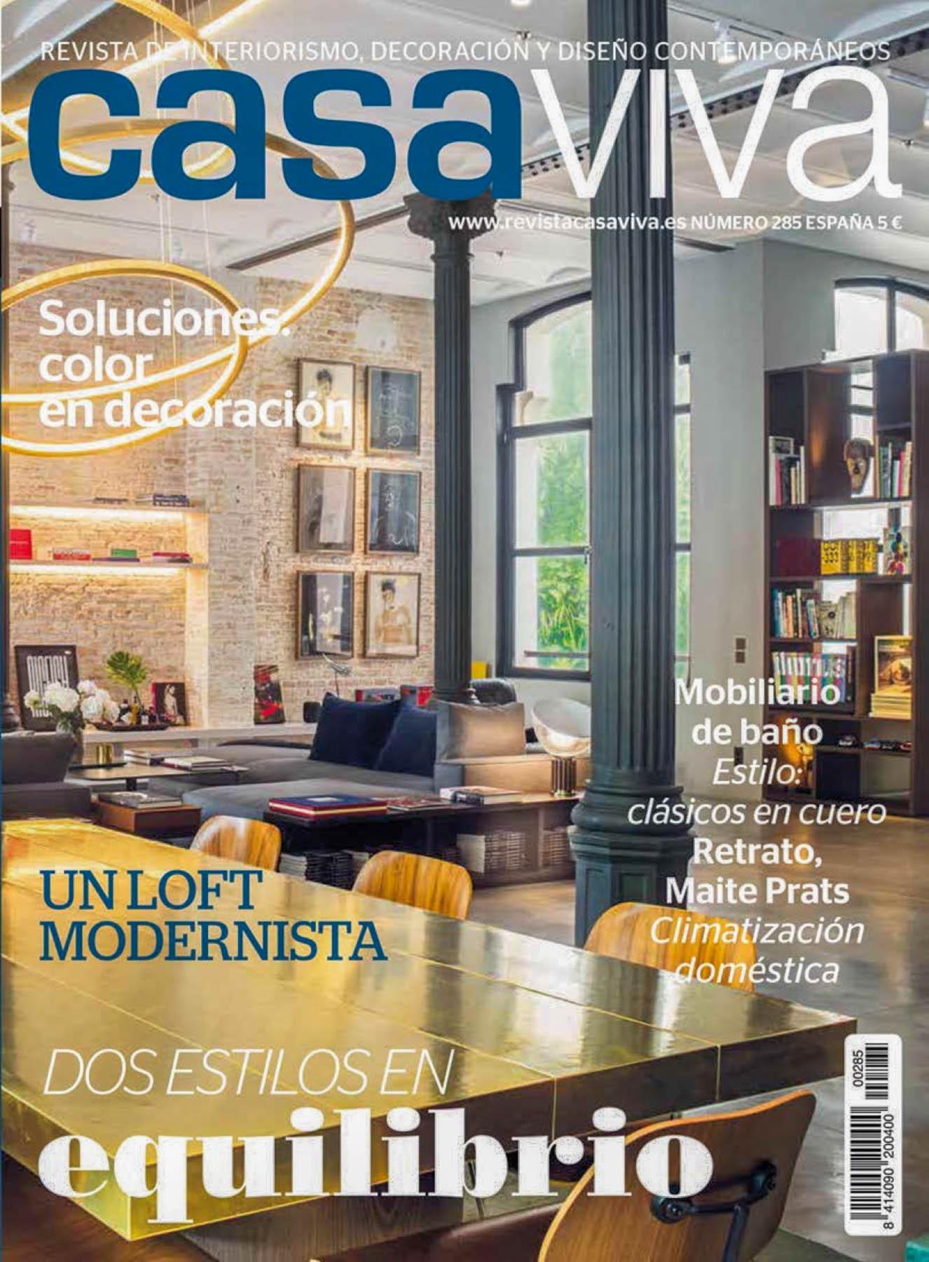 revista casaviva com david olmos e fotografia de interiores Ivo Tavares studio