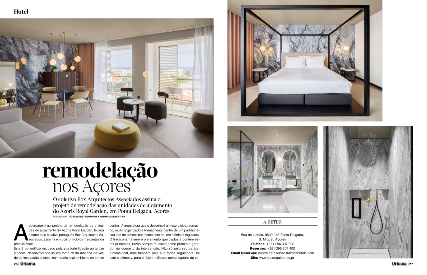 revista urbana 82 box arquitectos azoris hotels 1