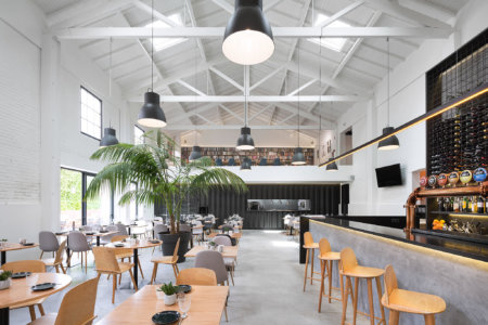 Reportagem Fotografia De Arquitectura Portuguesa Fotografo Ivo Tavares Studio Restaurante Theatro , Povoa De Varzim De Mimool Arquitectos .