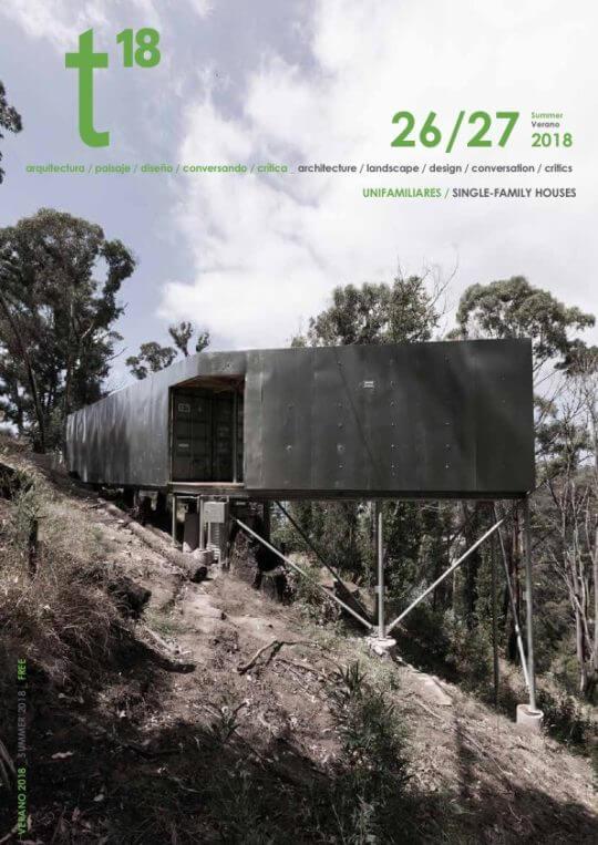 T18 Magazine #26/27 do atelier Ivo Tavares e fotografia arquitetura de ivo tavares studio